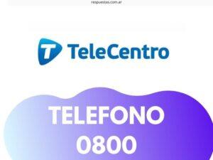 Telecentro Telefono 0800 Atencion al Cliente: 6380-9500 Reclamos