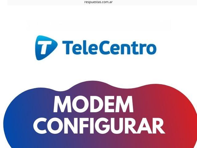 modem telecentro wifi