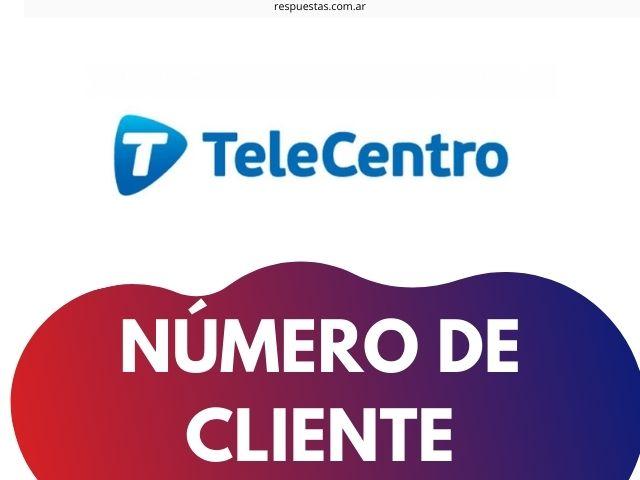 conocer numero de cliente de Telecentro
