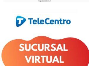 Telecentro Sucursal Virtual: Registrarse, Crear Cuenta, Baja, Cambiar contraseña