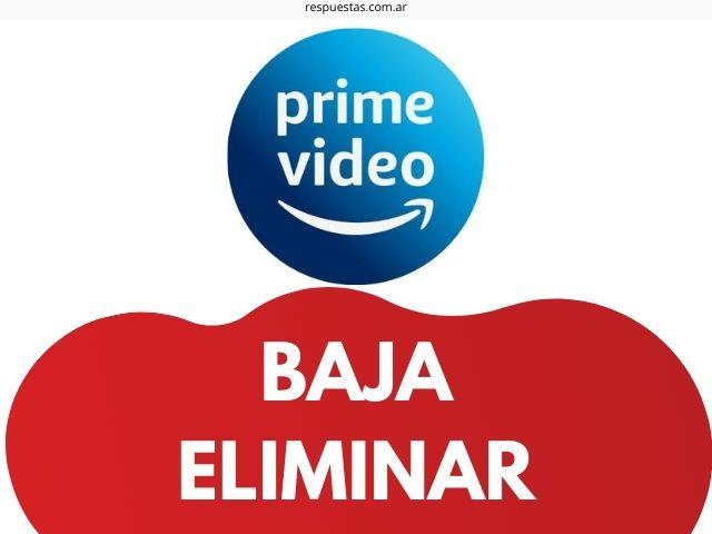 Cancelar Suscripcion Amazon Prime Vídeo Argentina
