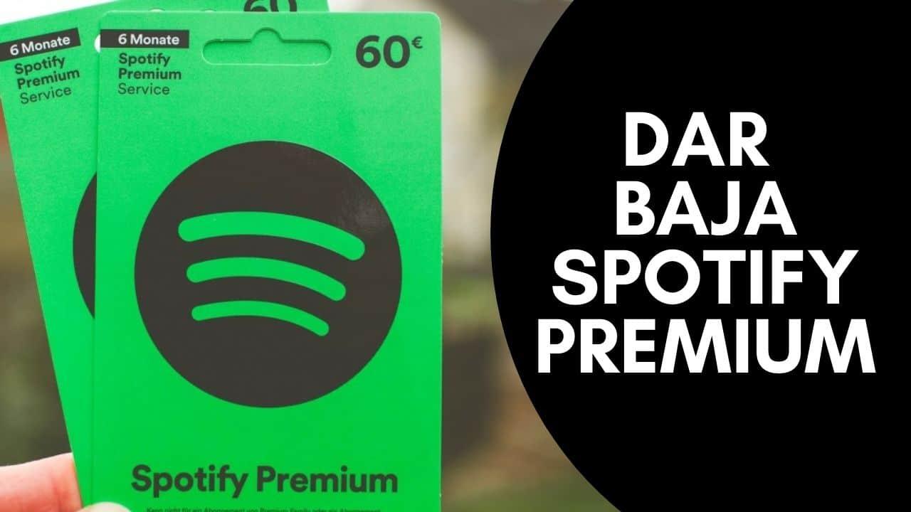 pedir baja de Spotify Premium Argentina