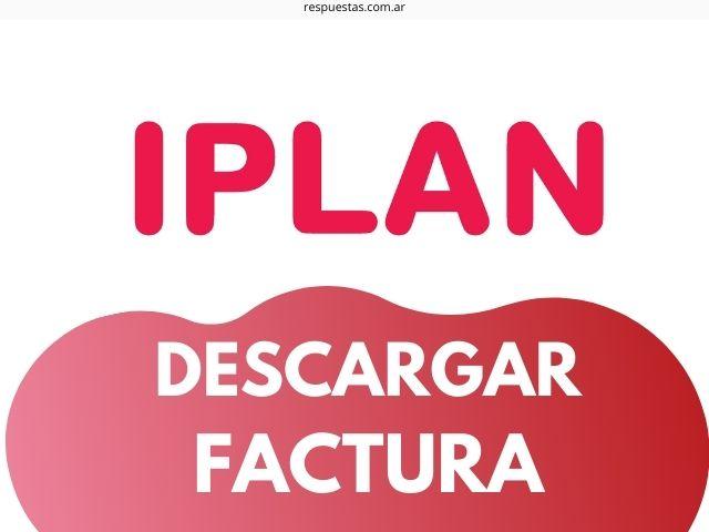 IPLAN Factura
