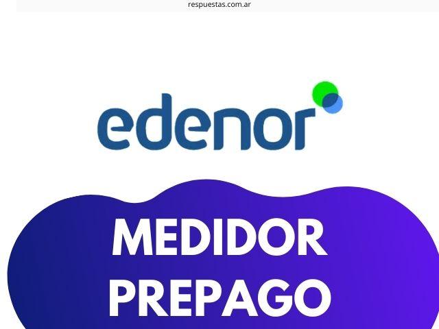 Medidor Edenor Prepago