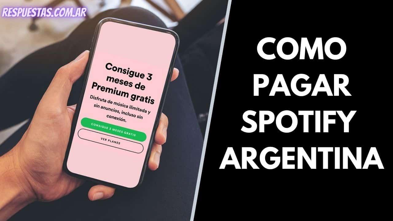 abonar Spotify Premium en Argentina