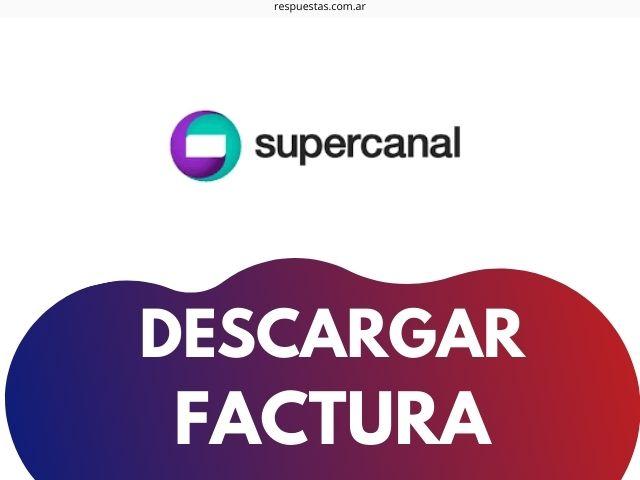 Supercanal Factura Electronica