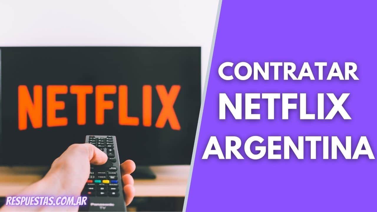 Contratar Netflix en Argentina