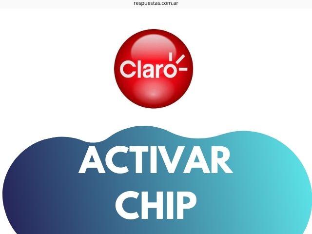 activar chip de claro