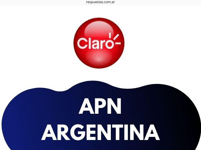 configurar apn claro argentina