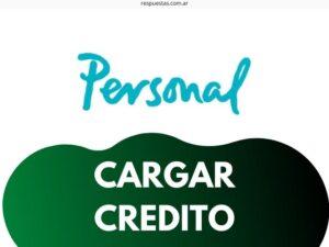¿Cómo Cargar Credito Personal desde Internet? Mercado Pago, Tarjeta, Contra Factura