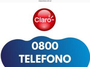 Claro Telefono 0800 Atención al Cliente: Sucursales, Chat, Reclamos