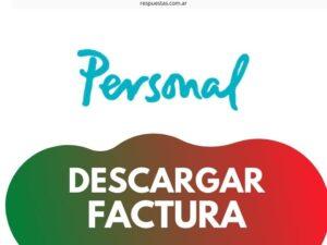 Descargar e Imprimir Factura Personal PDF Online ¿Como Hago?