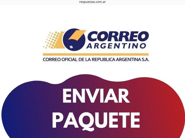 enviar paquete por correo argentino