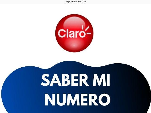 saber mi numero de Claro Argentina