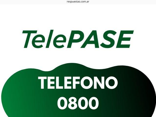 telepase telefono 0800 de contacto