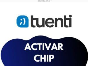 ¿Como Activar Chip Tuenti Argentina con mi numero?