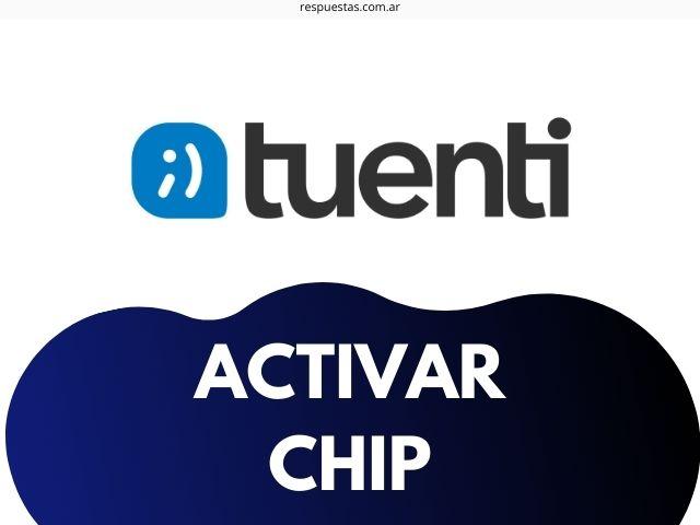 tuenti activar chip