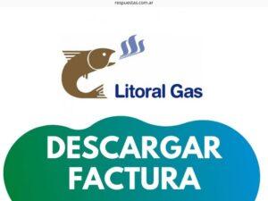 Litoral Gas Factura ¿Cómo bajar e Imprimir la boleta? Descargar
