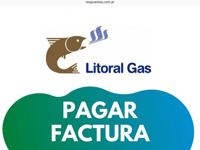pagar factura vencida litoral gas