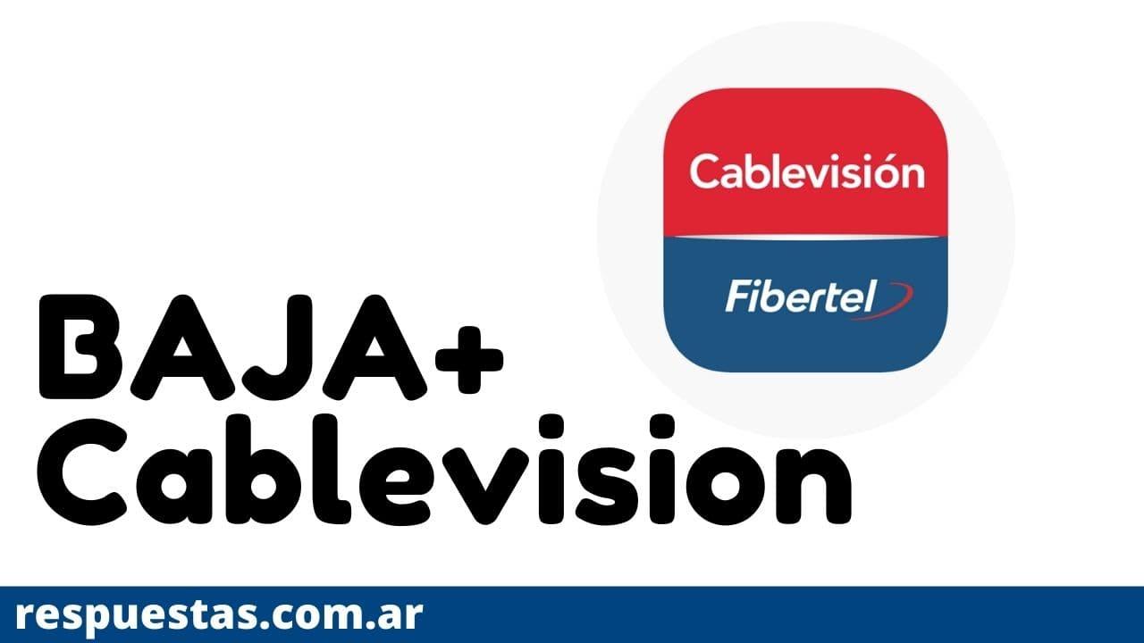 Dar Baja Servicio de Cablevision