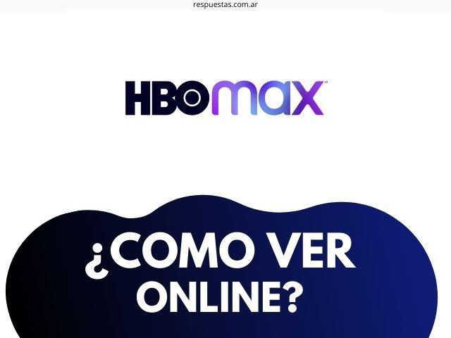 como ver HBO MAX en Argentina