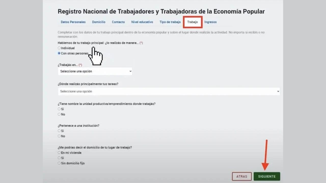 formulario renatep pdf