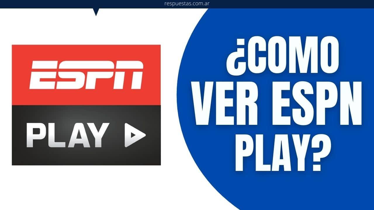 ver ESPN online