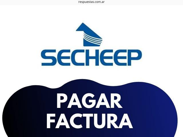 Secheep pagar facturas online