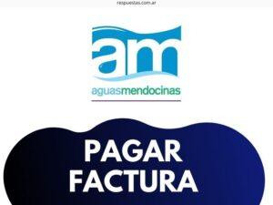¿Cómo pagar Factura AYSAM Aguas Mendocinas? Mercado Pago, Tarjeta, Efectivo, Debito