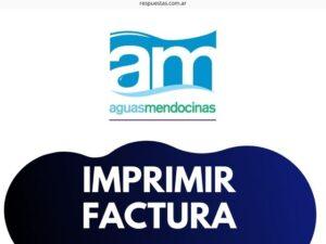 AYSAM Aguas Mendocinas Descargar Factura, Imprimir, Ver, Boleta