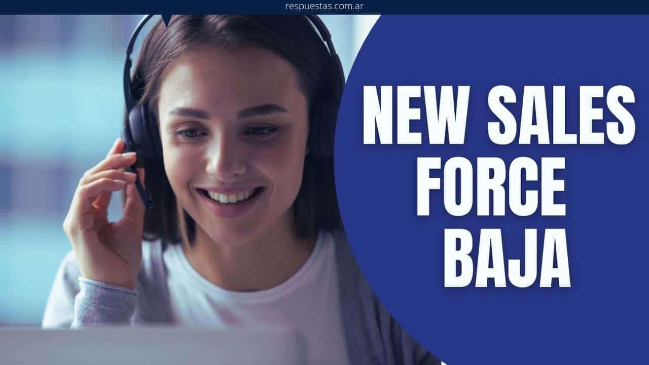 New Sales Force baja