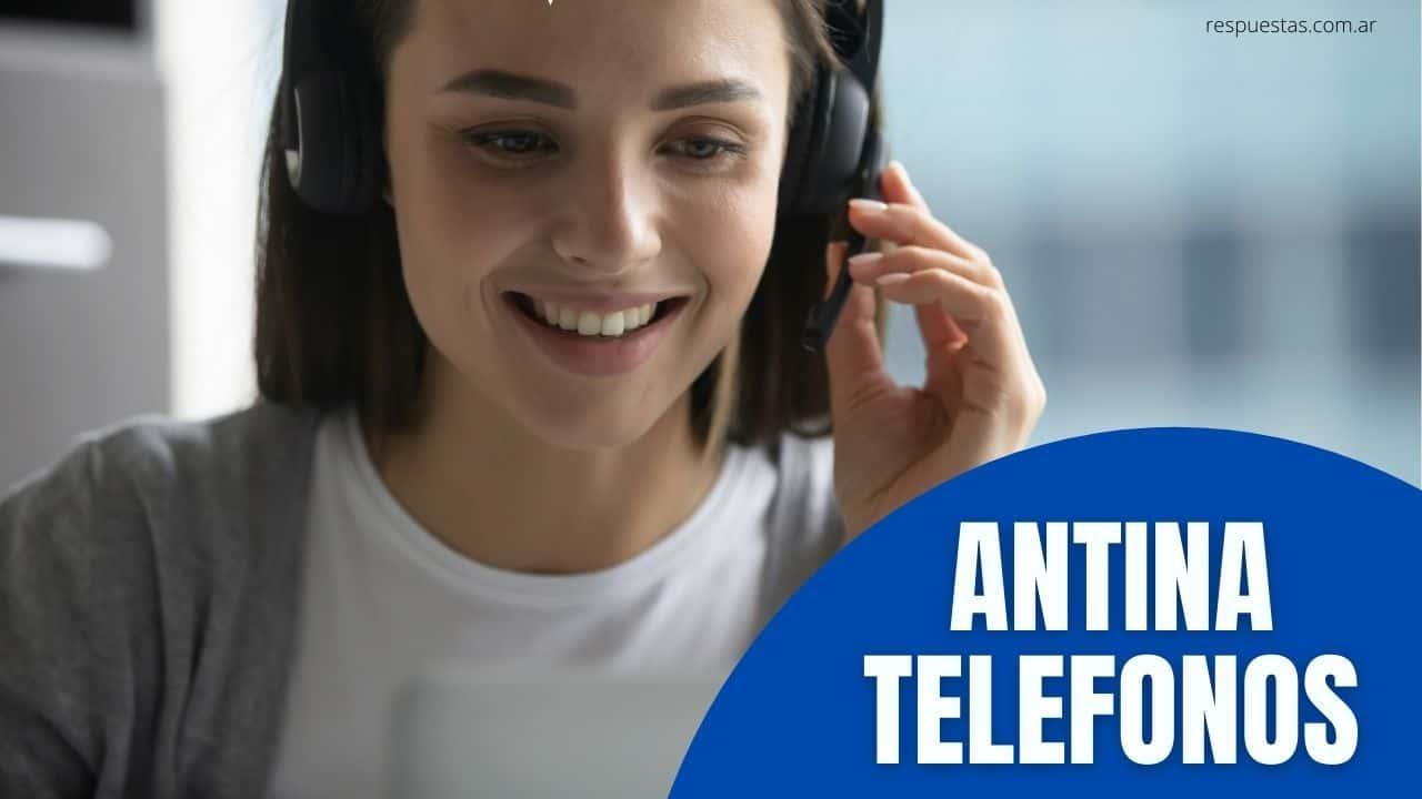 telefono antina atencion al cliente