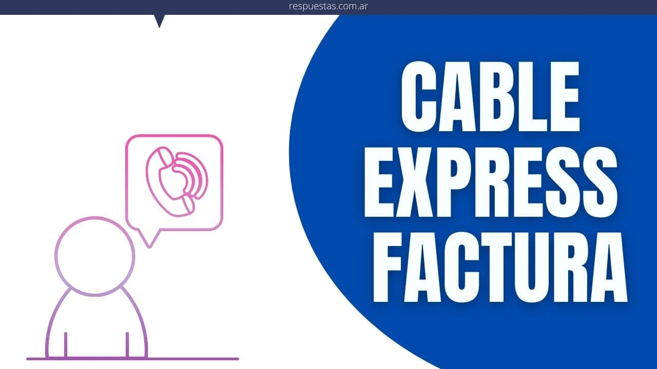 Cable Express Factura