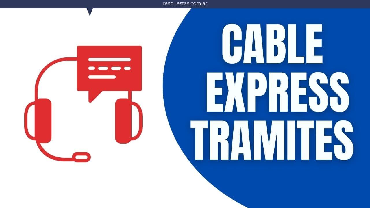 Cable Express tramites en linea