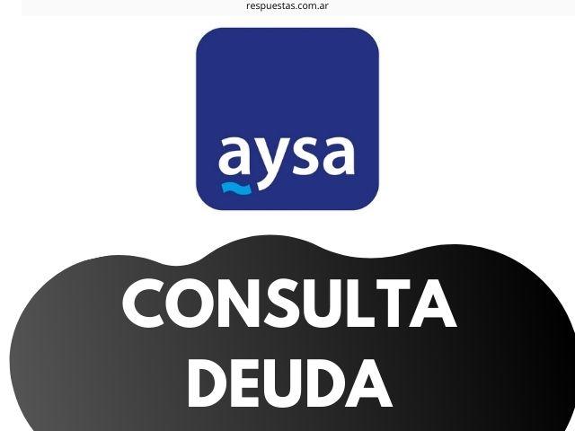 Consultar Deuda de AySA