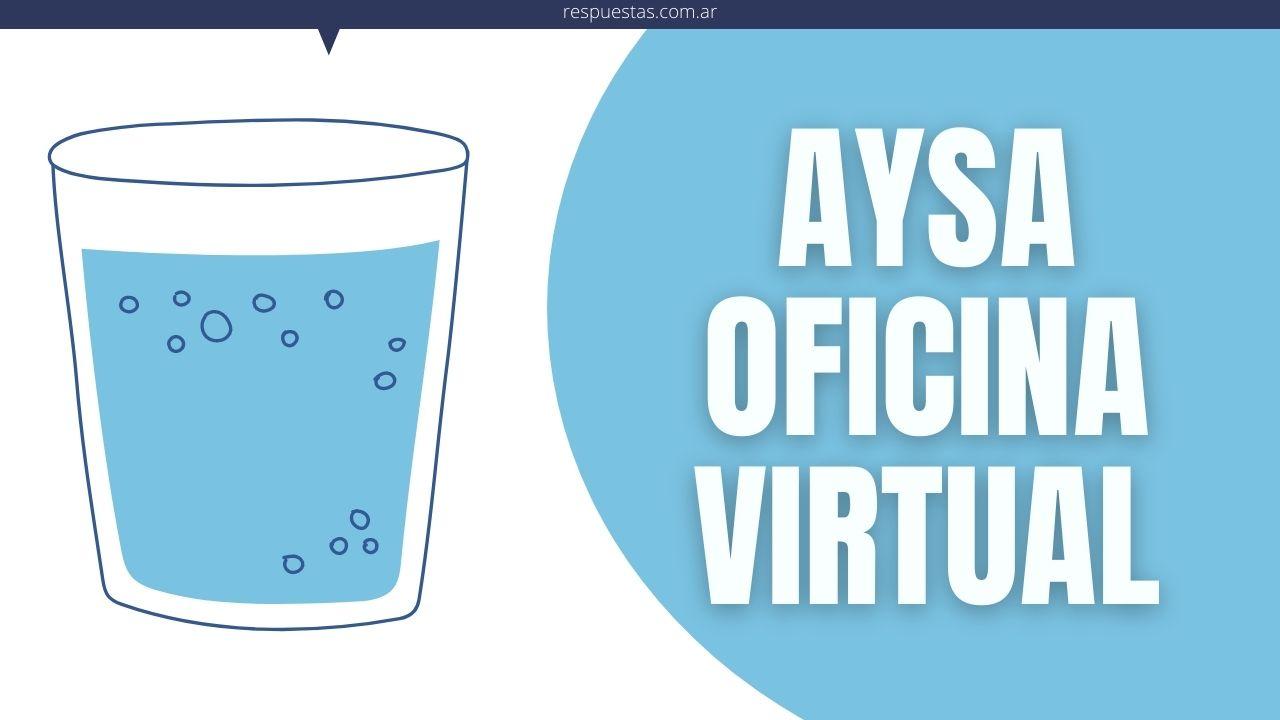 Oficina Virtual AySA
