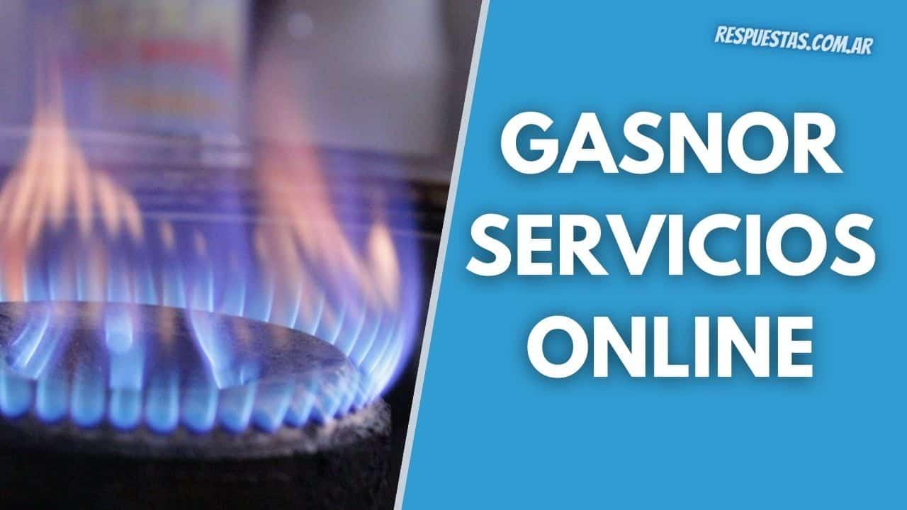 gasnor servicios online
